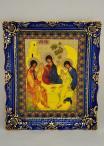 икона святая троица гжель 1