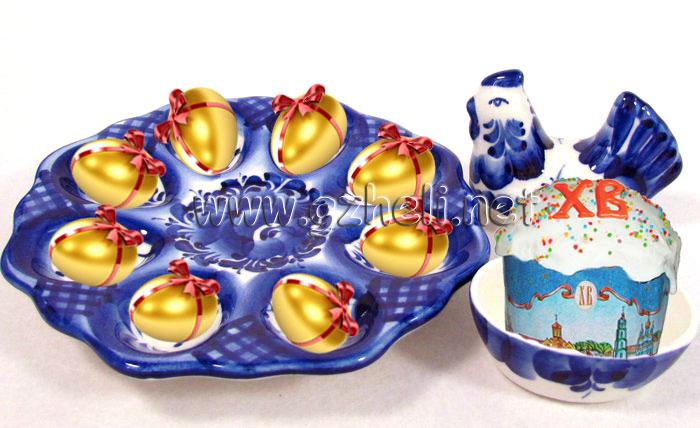 Яйца и другие пасхальные